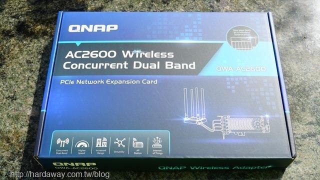 QWA-AC2600無線網路擴充卡