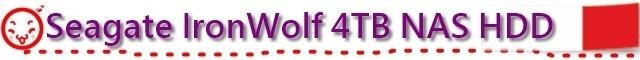 Seagate IronWolf 4TB NAS HDD