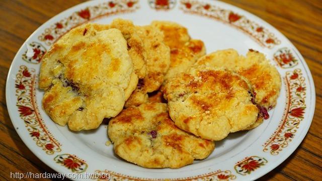 洛神花餅乾