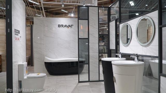 特力屋衛浴展示區