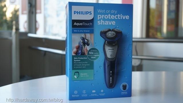 PHILIPS Aquatec乾濕兩用電鬍刀