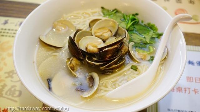 蒜蓉蛤蜊煨麵