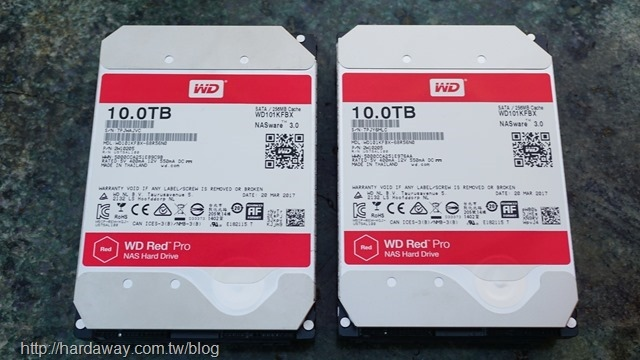 WD 10TB旗艦紅標硬碟