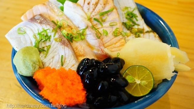 炙燒生魚丼