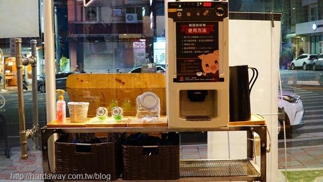 韓國咖啡機