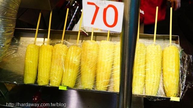 寧夏夜市炭烤玉米