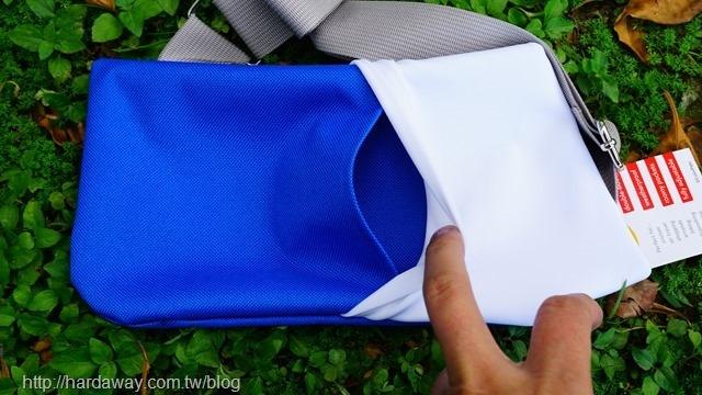 colorpaks超輕薄旅行側肩包