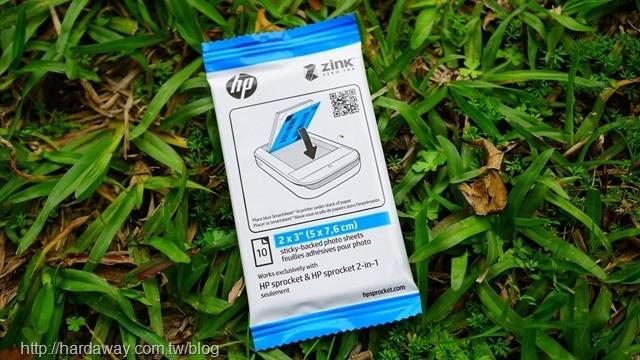 HP ZINK背黏式相紙