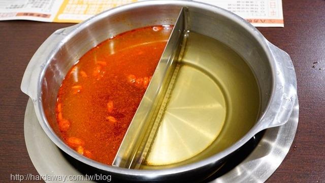 麻辣鴛鴦湯底
