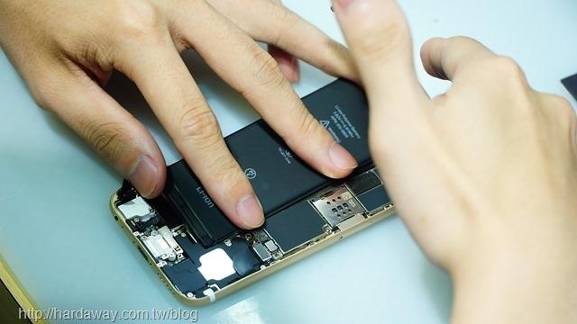 iPhone手機電池更換