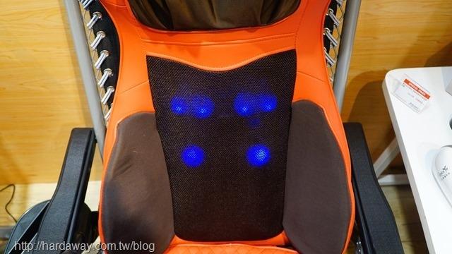 康生BOSS專用氣壓揉捶全功能按摩椅墊