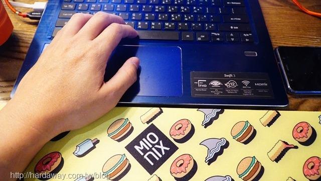 MIONIX多功能腕墊滑鼠長墊