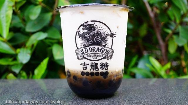 吉龍糖黑糖珍珠厚奶