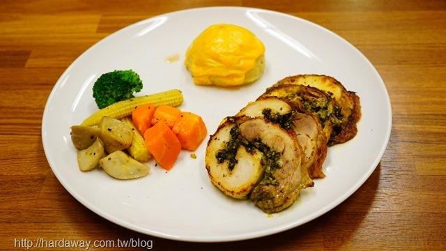 歐式羅馬香料雞肉捲