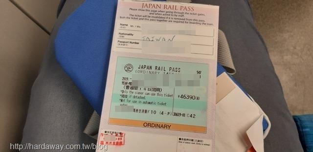 全國版JAPAN RAIL PASS