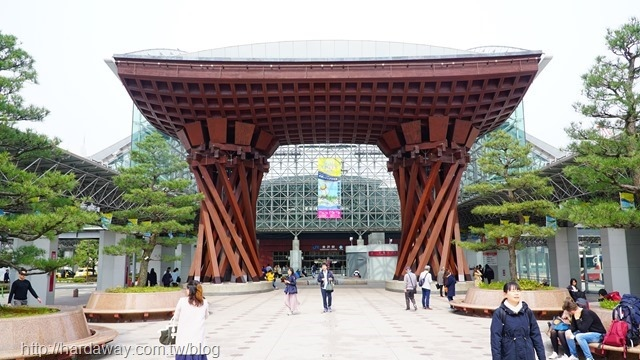 JR金澤站