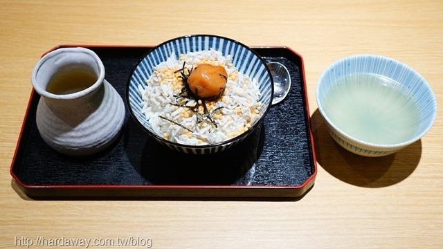 梅子茶泡飯