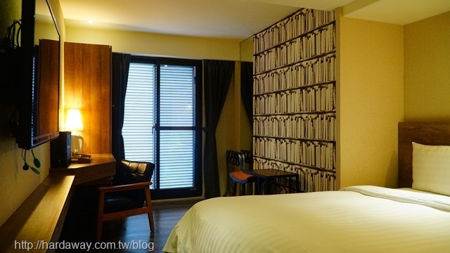蘭桂坊花園酒店豪華雙人房