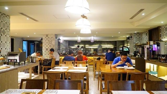 蘭桂坊花園酒店餐廳