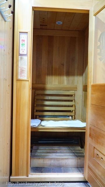 天川養生會館遠紅外線檜木烤箱