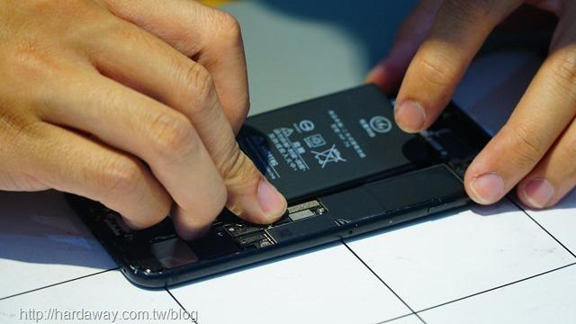 iPhone換電池終身保固