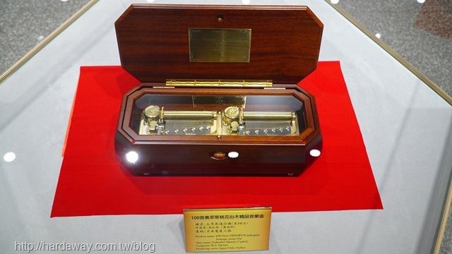 奧菲斯桃花心木精品音樂盒