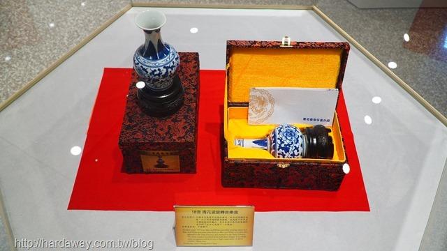 青花瓷旋轉音樂盒