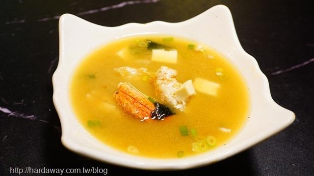 鱈蟹味增湯