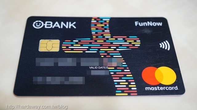 O-Bank FunNow聯名卡