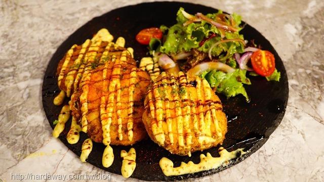鮭魚馬鈴薯煎餅