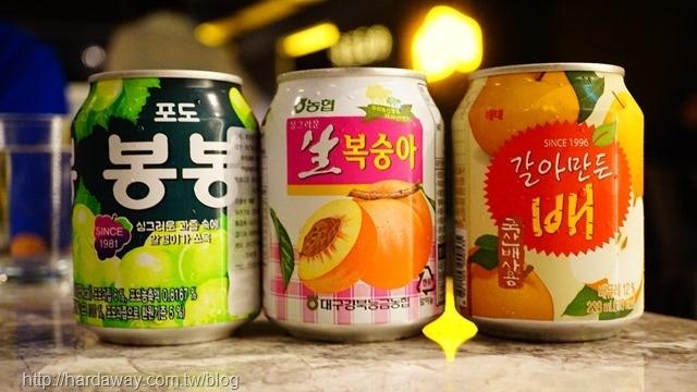 韓國進口果汁