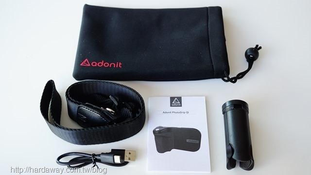 Adonit PhotoGrip Qi無線充電藍牙拍照握把配件