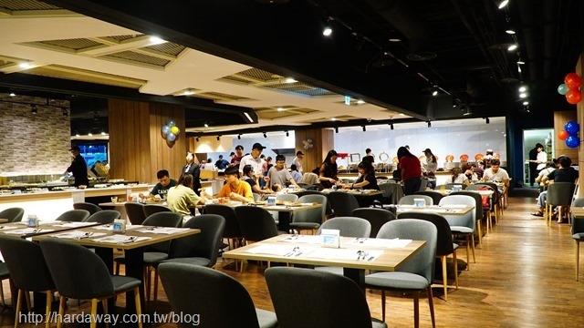 晶豐百匯用餐區