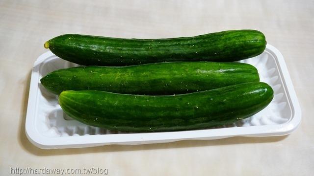 酸黃瓜製作過程