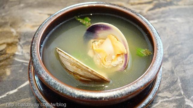 大葉蛤蠣湯