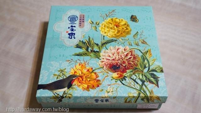 花鳥寄情中秋禮盒