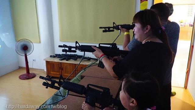 電子射擊PK戰