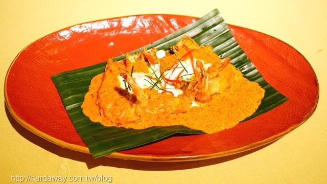 椰奶紅咖哩明蝦
