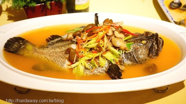 清蒸梅子石斑魚