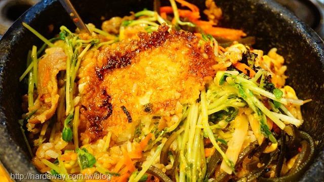 壽喜牛肉石鍋拌飯