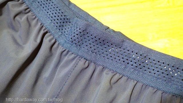 SPORT PRO銀點拉鍊口袋網孔拼接短褲