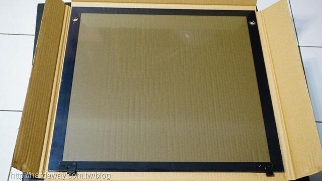絞鏈式玻璃側板