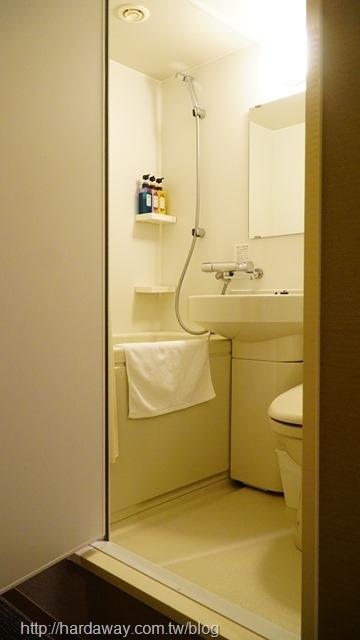 宇都宮陽光酒店房間浴室