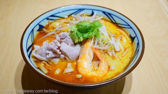 海鮮叻沙烏龍麵