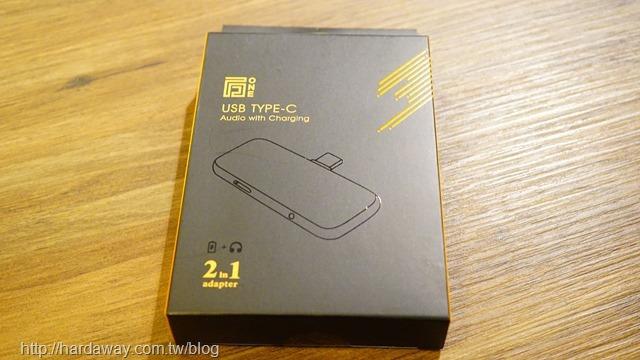 万One TypeC -Dongle音樂/充電雙IC轉接器