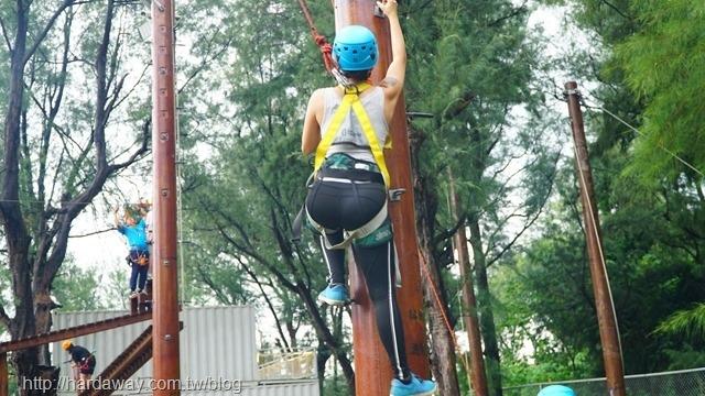 桃園青年體驗學習園區高空探索設施