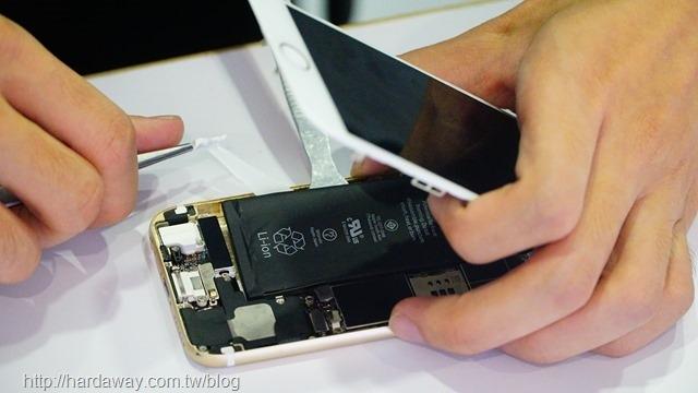 iPhone手機換電池