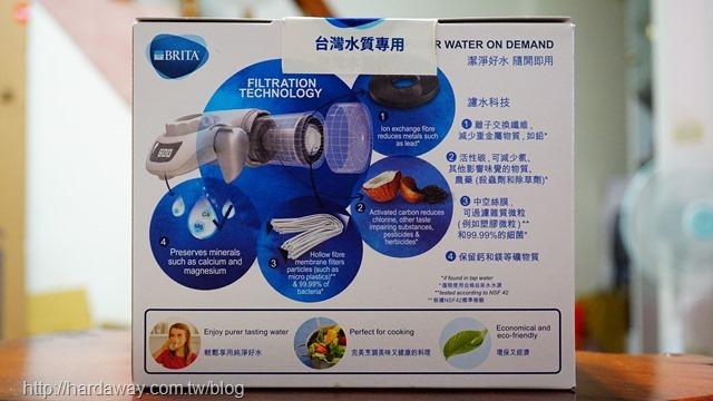 BRITA濾菌龍頭式濾水器