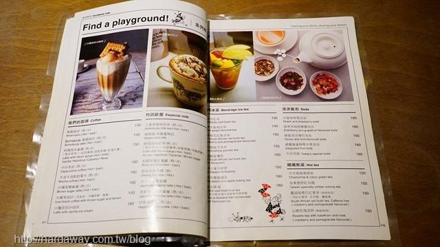 Somebody Cafe菜單