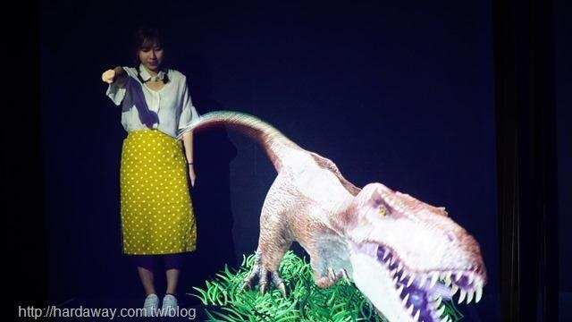 AR實境恐龍互動